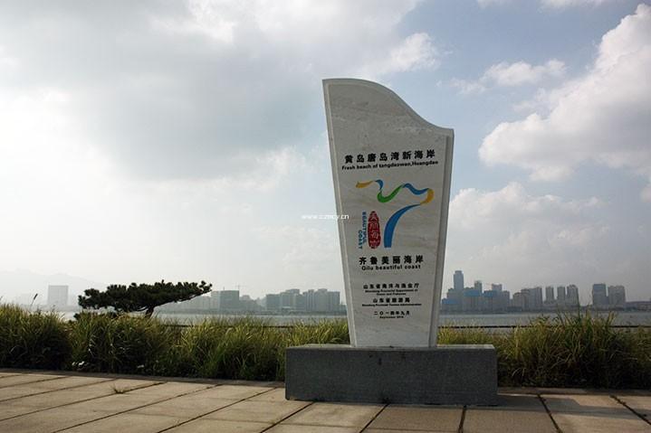 青岛唐岛湾导向标识及城市家具项目