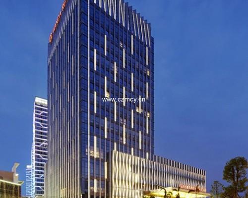 龙岩万达嘉华酒店室外标识项目